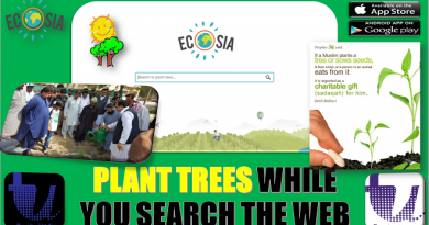 ecosia - Plant tree while you search the web