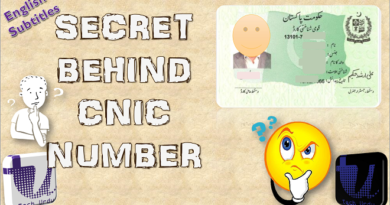 Do you know the Secret information about 13 digit NADRA CNIC No? Here is the complete information about your Computerized National Identity Card Number (CNIC). - techurdu.net
