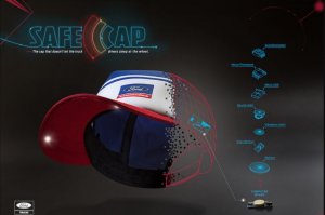 How does The SmartCap by Ford saves truck drivers life work