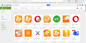 UC Browser is back in Play Store