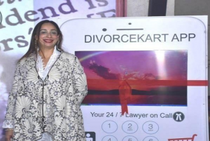 Vandana shah first divorce app