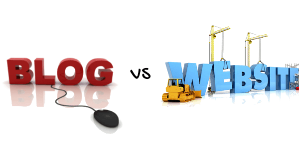 blog vs website? what you should choose?