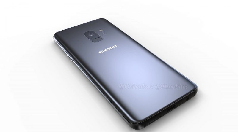 Samsung Galaxy S9 Leaked image