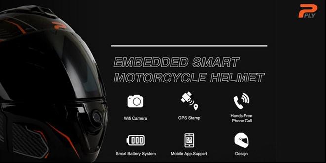 Smart Motorcycle Helmet