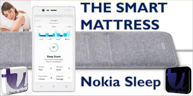 The smart mattress pad by nokia tech urdu
