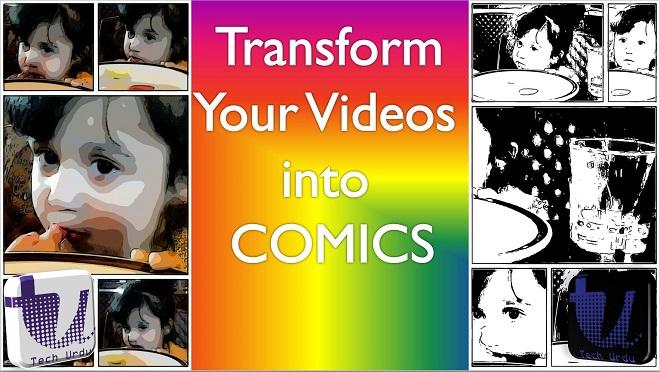 Transform Videos into Comics - Storyboard - tech urdu - Copy