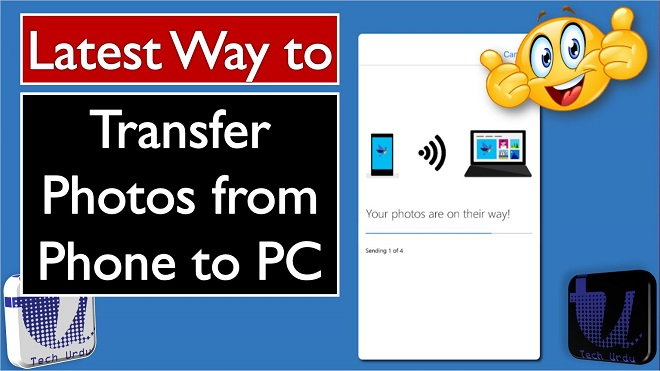 Photos Companion - Transfer Photos from Mobile to PC 2018 by Microsoft - Tech Urdu