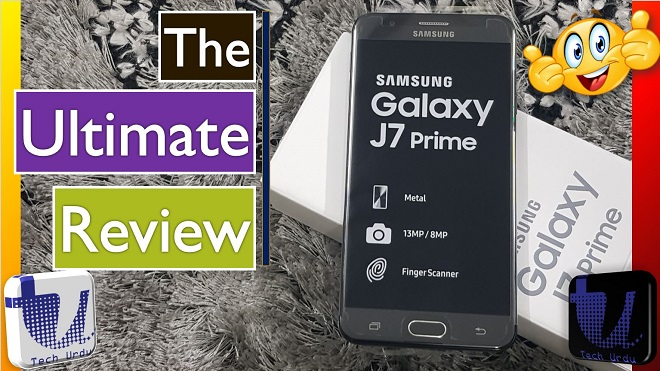 Samsung Galaxy J7 Prime (2018) Unboxing and The Ultimate Review Thumbnail Tech Urdu -