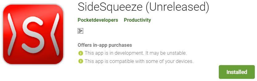Squeeze Side - Tech Urdu