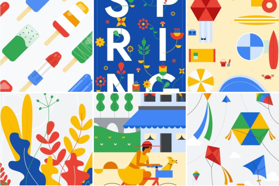 Google-Spring-Wallpaper-Android-P - Tech Urdu