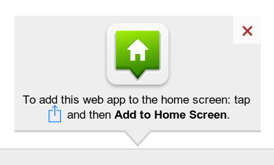 How to add Website on Home Screen