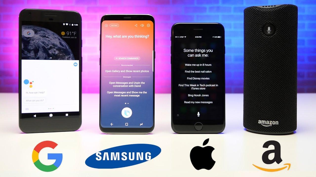 Siri Vs Alexa Vs Bixby Vs Google Assistant - Tech Urdu