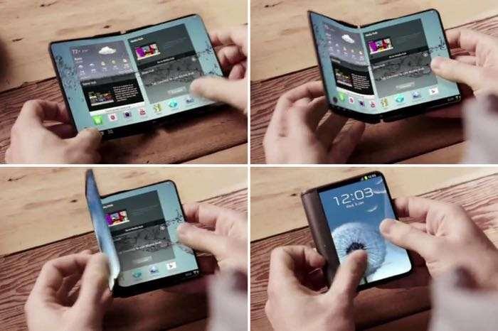 samsung foldable smartphone - tech urdu