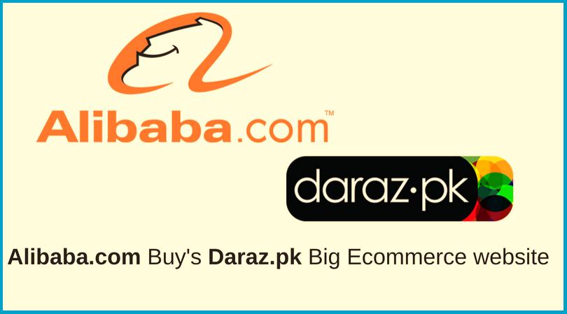 Alibaba into Pakistani Market. Alibaba buys daraz. Tech Urdu
