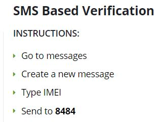 DIRBS - Mobile Verification via text message - Tech Urdu