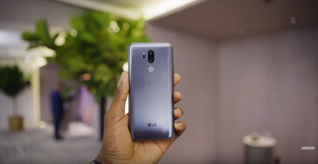 LG G7 Thinq - MKBHD-tech urdu