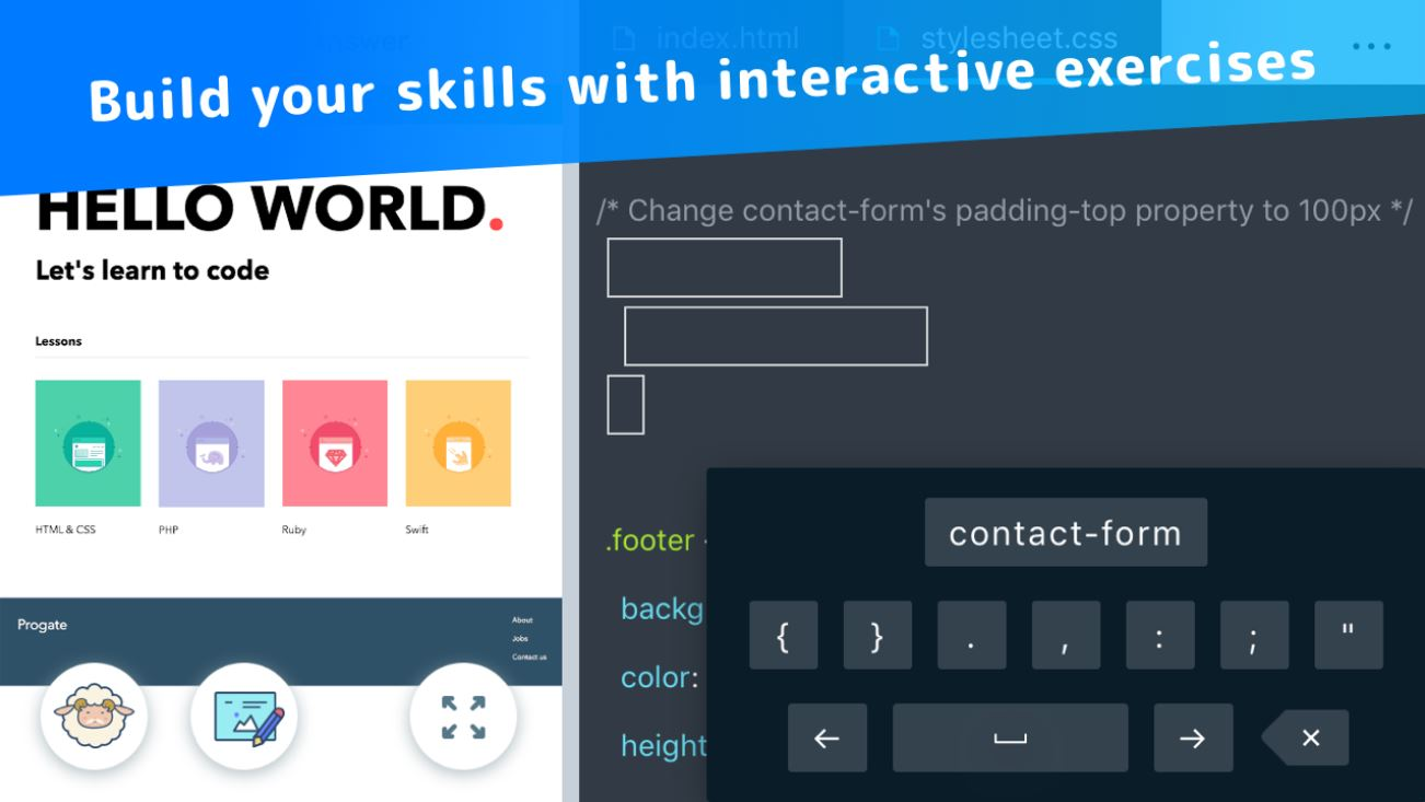 Progate - Programming Learning with fun and exercises | Programming App