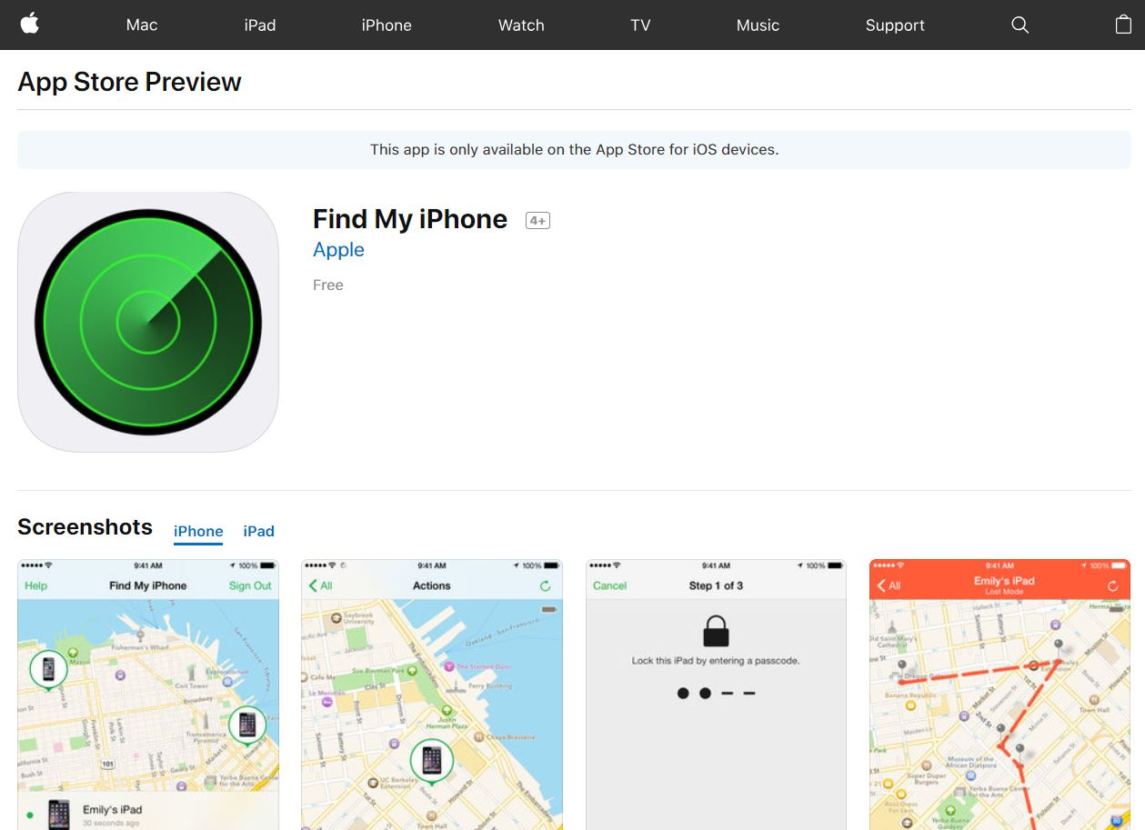Find my iPhone - Tech Urdu