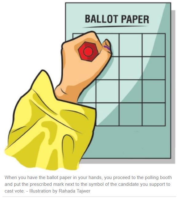 Election - Ballot Paper 1 - Tech Urdu