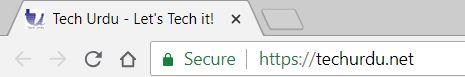 Secure Site - Tech Urdu