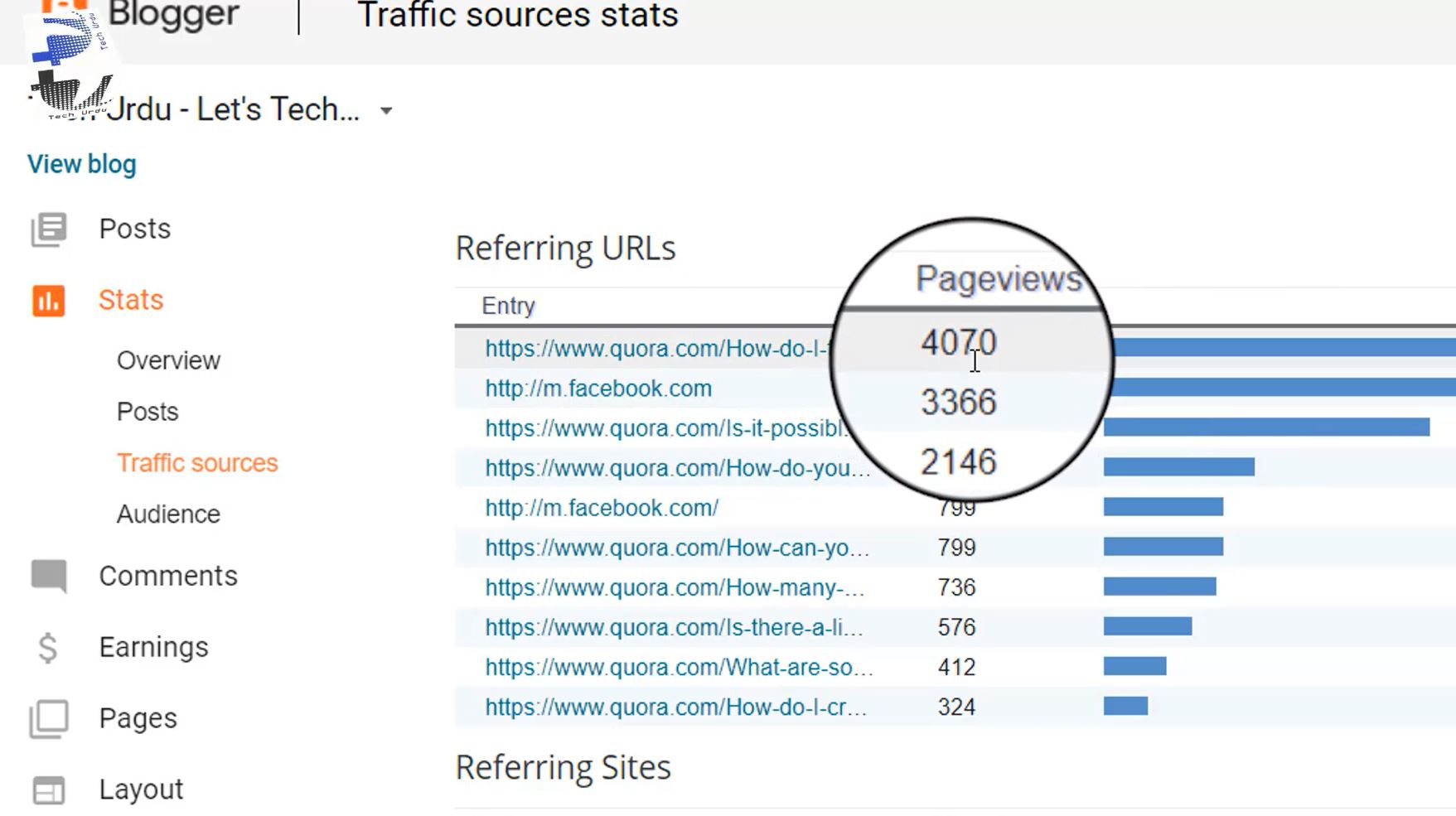 The Single Unique Way to Get Views on Your Blogger/Blogspot (2018) [Urdu/Hindi]