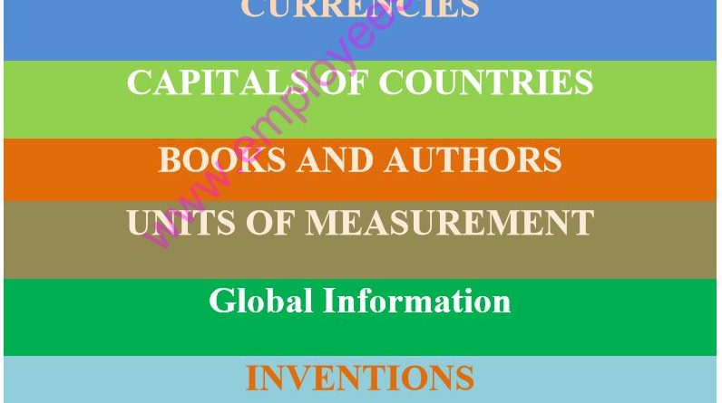 General Knowledge Book - CSS & PMS