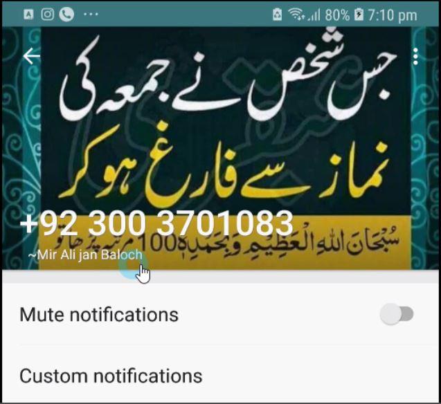 Identify Unknown WhatsApp Number 1