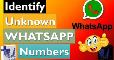 Identify Unknown Numbers on WhatsApp - Tech Urdu