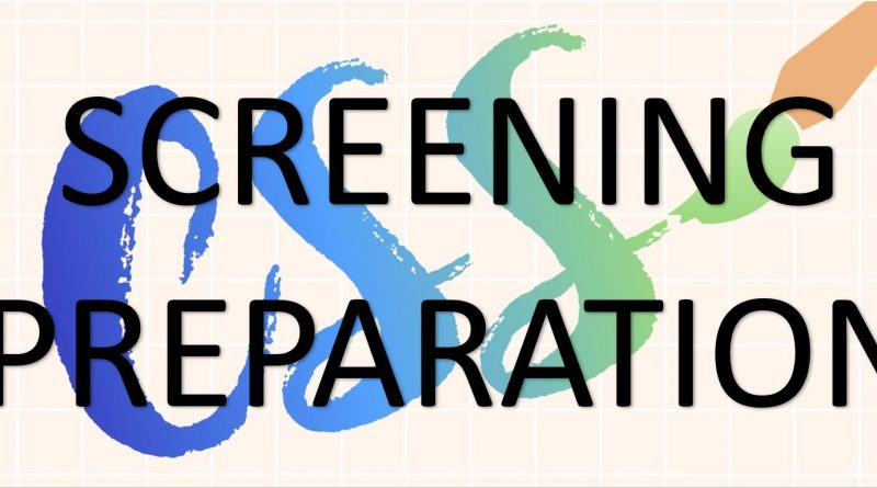 CSS Screening Preparation