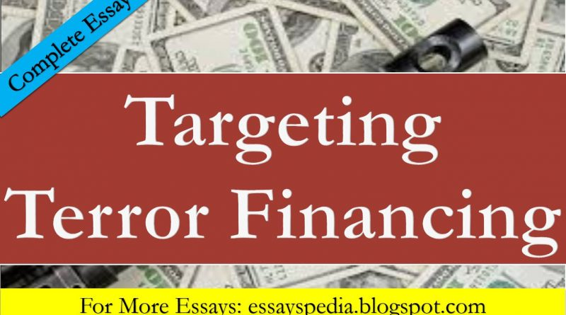 Targeting Terror Financing in Pakistan - Tech Urdu
