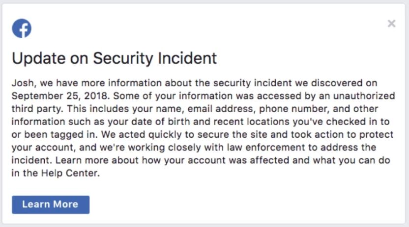 Facebook Warning Message - How to find out if your Facebook was Hacked?