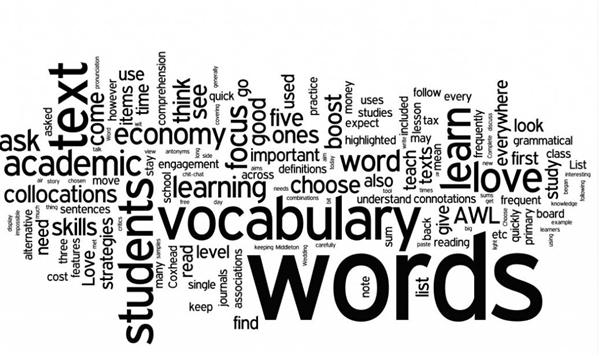 #1: Your Weekly Vocabulary List
