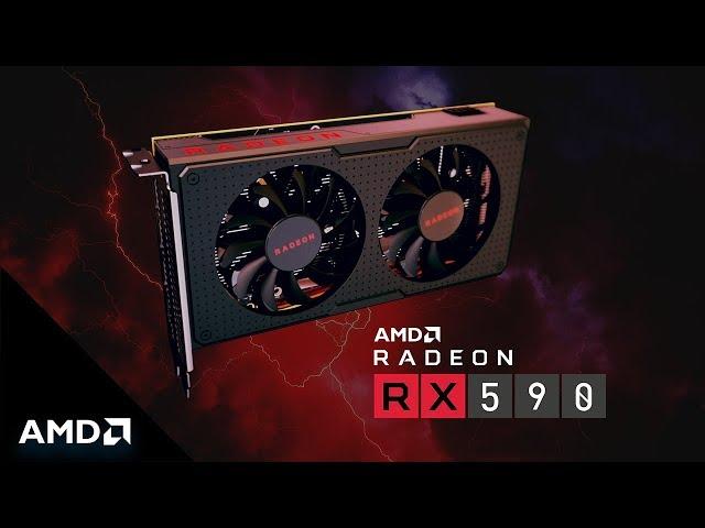AMD Announces Mid-Range Radeon RX 590 to Take on NVIDIA GeForce GTX 1060