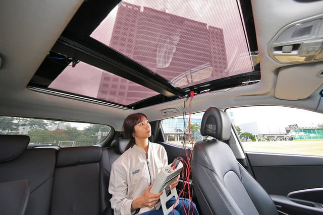 Hyundai & Kia Cars to have Solar Panel Roofs