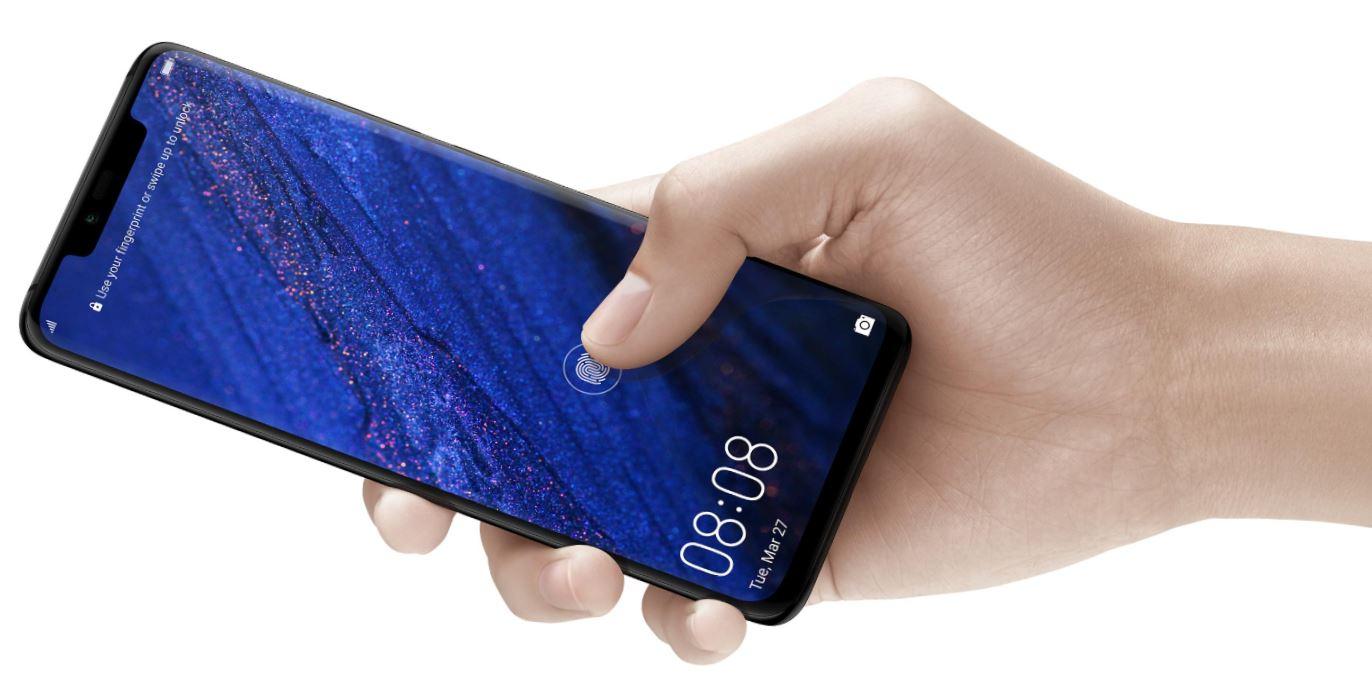 In Screen Fingerprint Huawei