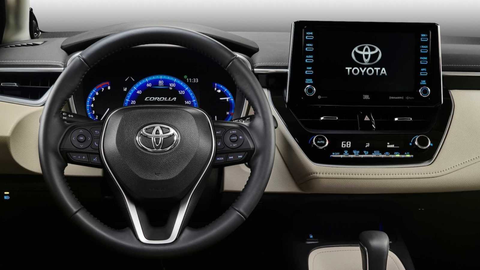 The Exterior of Toyota Corolla 2020
