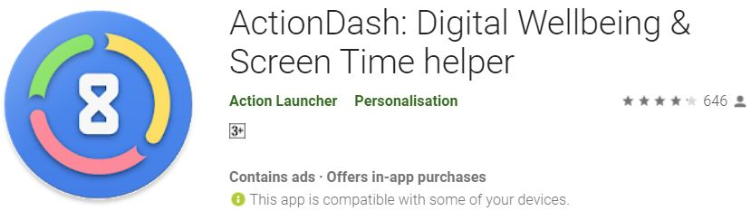 ActionDash App Brings Digital Wellbeing & Screen Time Helper Features to All Android Phones - Tech Urdu