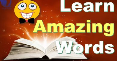 Learn Amazing, Weird, Never Heard English Words Before - Tech Urdu