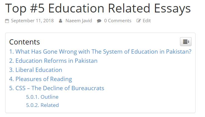Top #5 Education Related Essays (PDF Download) - Tech Urdu