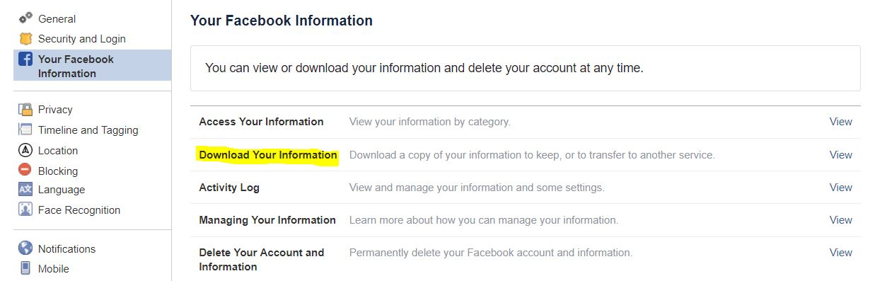 How to Recover a Deleted Facebook Post? - Tech Urdu