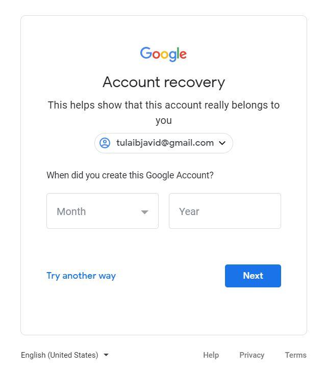 How to Recover a Forgotten Gmail Password? - Tech Urdu