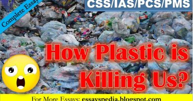 How Plastic is Killing Us and How far it has Impacted Us?| Complete Essay with Outline - Tech Urdu