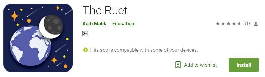 Moon Sighting Mobile Application 'The Ruet' Launched - Tech Urdu