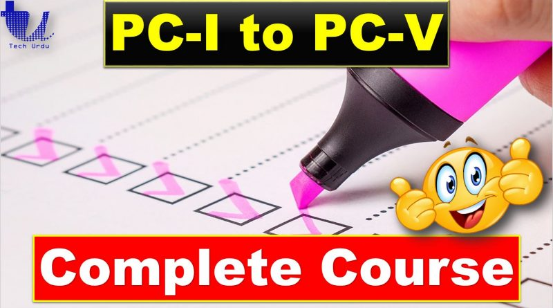 PC-I to PC-V Complete Course   Planning Commission & Planning Process