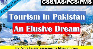 Tourism in Pakistan - An Elusive Dream   Complete Essay with Outline - Tech Urdu