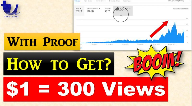 How to Get More YouTube Earnings with Fewer Views? (With Proof) - Tech Urdu
