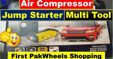 Multi-Function Car Jump Starter Power Bank with Air Compressor - Tech Urdu