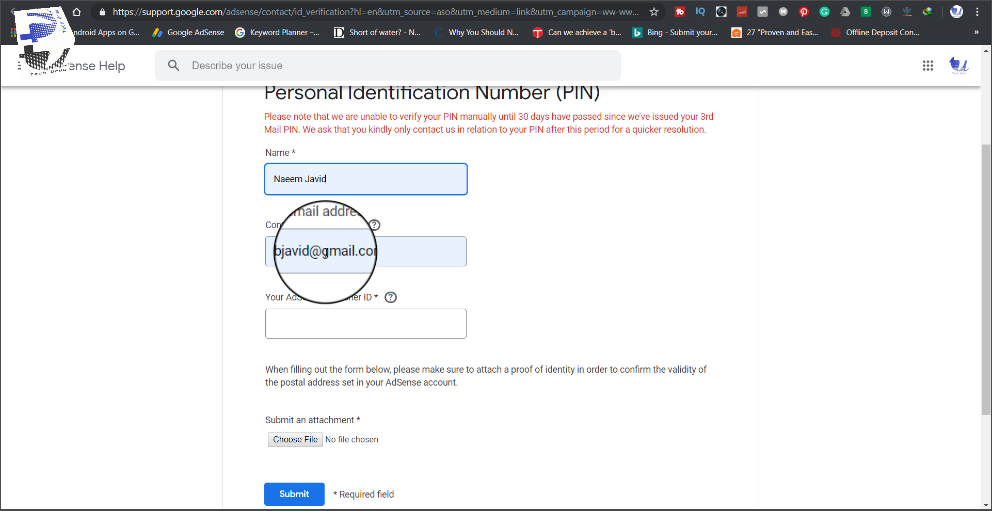 Here is How to Verify Google AdSense Without Receiving Address Verification PIN - How to Verify Google AdSense Without Receiving Address Verification PIN? techurdu.net
