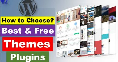 Here is How You Can Select Best Free WordPress Themes & Plugins? - techurdu.net