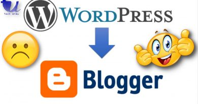 Pointing a Site From WordPress to Blogger Hosting - techurdu.net
